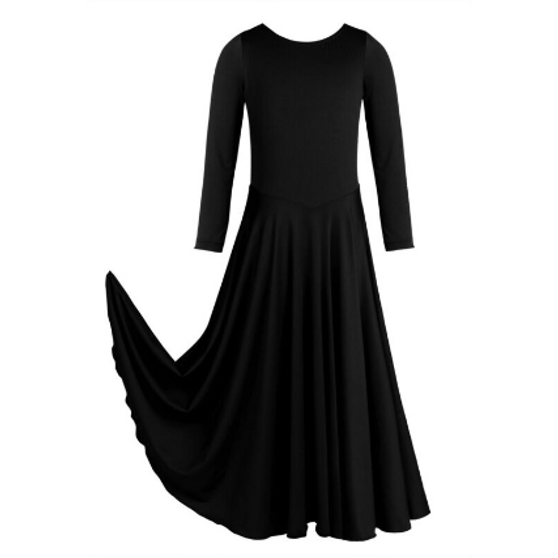 Praise Long Sleeve Dress (Adult S-XL)