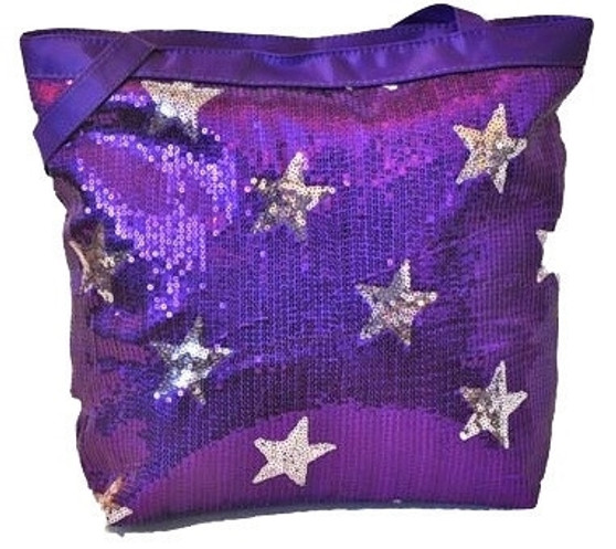 Sequin Star Tote Bag