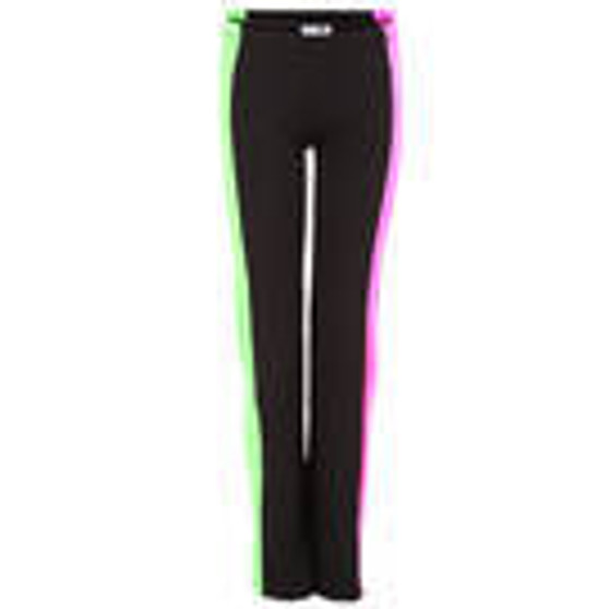 Hot Pink and Lime Stripe Pants (Adult)