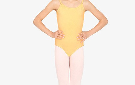 Low Back Cotton Camisole Leotard  (Youth)