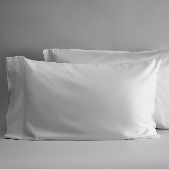DUXIANA Essentials, Sateen, Pillow Cases, white