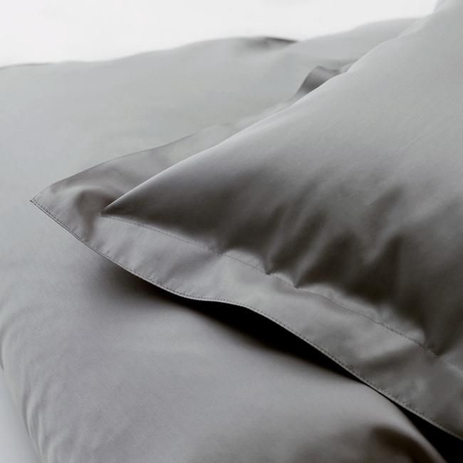 DUXIANA Essentials - Sateen, fitted sheet, graphite