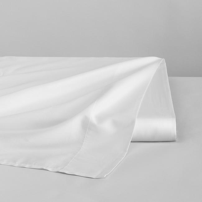 DUXIANA Essentials - Sateen, flat sheet, white
