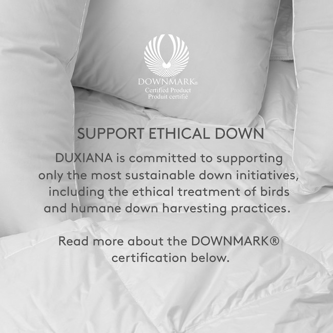 DOWNMARK Certified for the ethical treatment of animals.