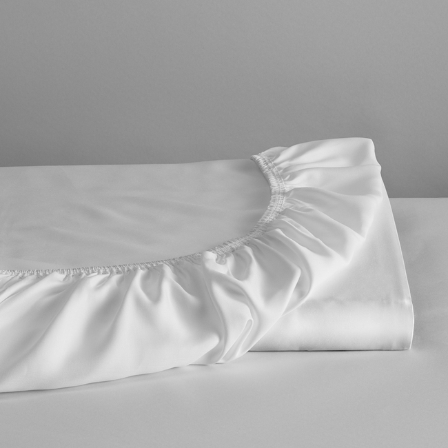 DUXIANA Essentials - Urban, Fitted Sheet, white