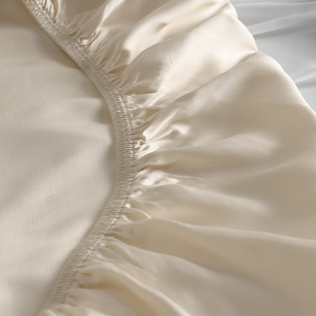 DUXIANA Essentials - Urban, Fitted Sheet, detail ivory