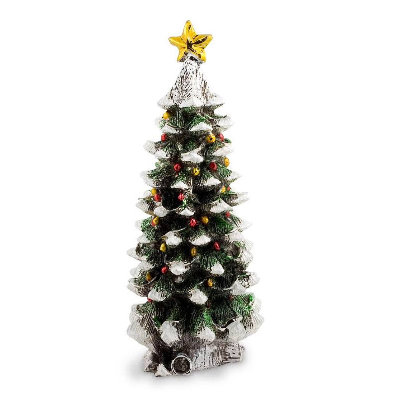 Italian Christmas.Silver Italian Christmas Tree With Star