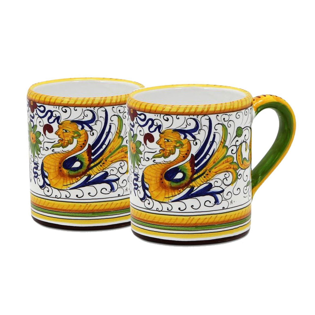 Deruta Mug Raffaellesco Italian Ceramics