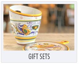 Italian Ceramic Pottery Gift Sets