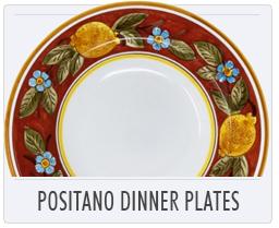 Italian Deruta Positano Dinner Plate