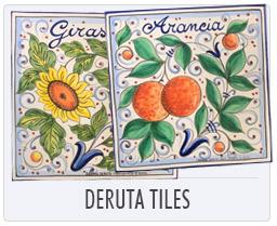 Italian Pottery - Deruta Tiles