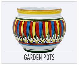 Italian Pottery Garden Pot