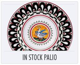 Italian Pottery In Stock Palio Items