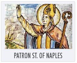 Italian Deruta Pottery Patron Saint of Naples
