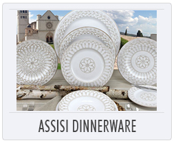 Italian Pottery Assisi Dinnerware