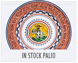 Italian Pottery In Stock Palio