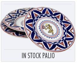 Italian Deruta Pottery In Stock Palio Plates