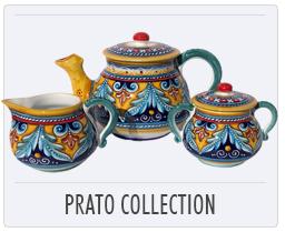 Italian Deruta Pottery Prato Collection