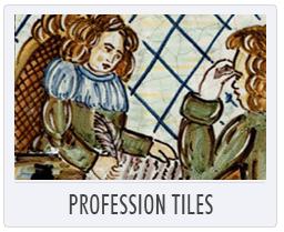 Italian Pottery Profession Tiles