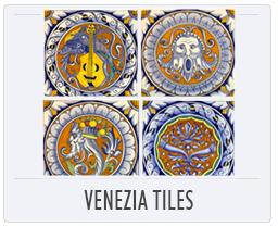 Italian Pottery Venezia Tiles