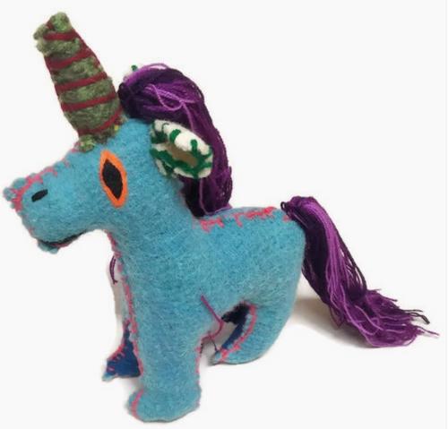 Unicorn Wool Animal - Mexico