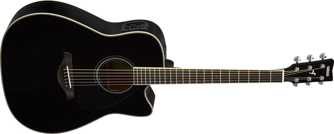 Yamaha Fgx820c Acoustic Guitar Black Guitars & Basses