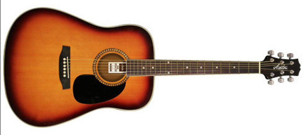 Ashton Spd25 Acoustic Guitar Pack Left Handed Available Beggs Music Shop Nelson Musical Instruments Nz