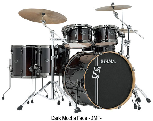 Tama Superstar Hyperdrive Drumkit Maple 5 Piece Dark Mocha Fade