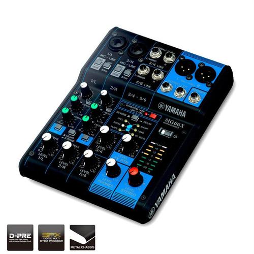 Yamaha MG06X Mixing Desk