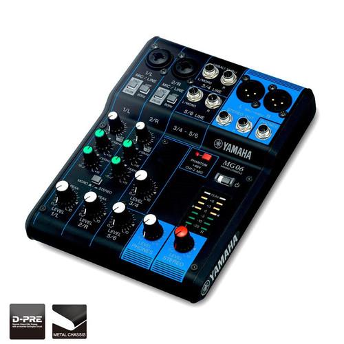 Yamaha MG06 Analog Mixing Desk