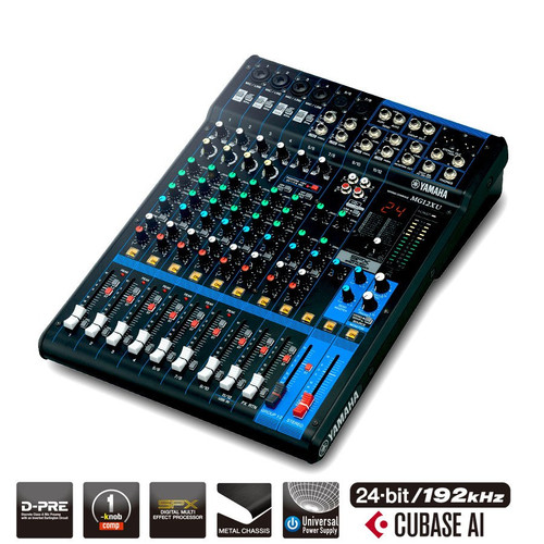 Yamaha MG12XU Analog Mixing Desk