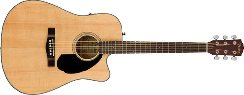 Fender CD60SCE Acoustic Electric Guitar Natural