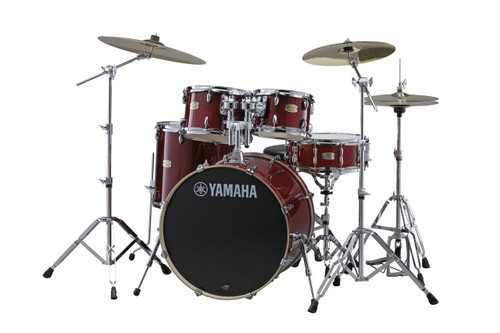 Yamaha Stage Custom Birch Rock Drum Kit with Hardware
