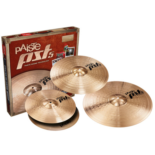 Paiste PST5 Universal Cymbal Pack