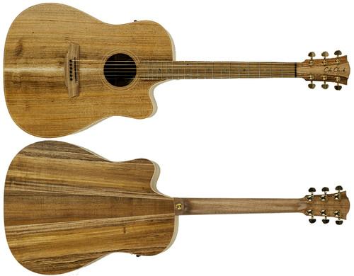 Cole Clark Fat Lady 2 FL2 EC BLBL Acoustic Electric Guitar