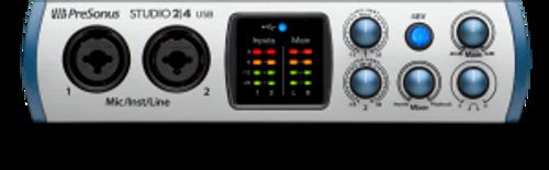 PreSonus Studio 24 - 2x2  USB-C Audio/MIDI Interface