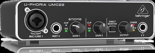 Behringer U-Phoria  UMC 22 USB Audio Interface