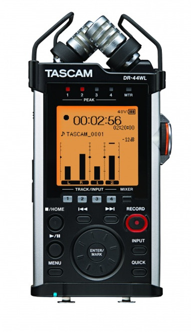 Tascam DR-44WL 4 Track Portable Recorder