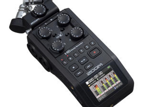 ZOOM H6 Black Handy Audio Recorder
