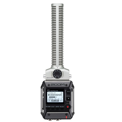 ZOOM F1-SP Field Recorder + Shotgun Microphone