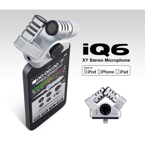 ZOOM IQ6 XY Stereo Microphone for IOS
