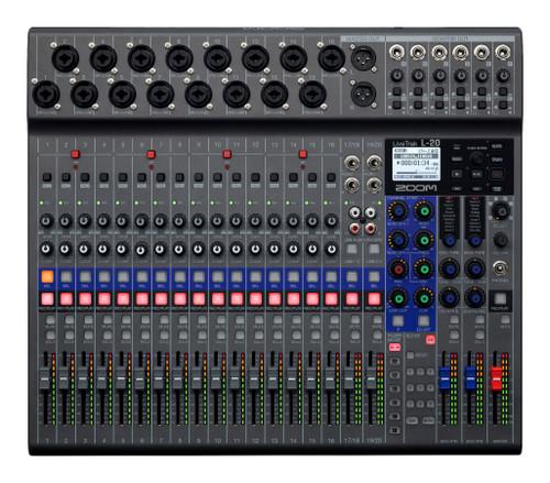 ZOOM LiveTrak L- 20  20 Track Mixer