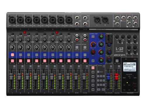 ZOOM L-12 LiveTrak Digital Mixing Console