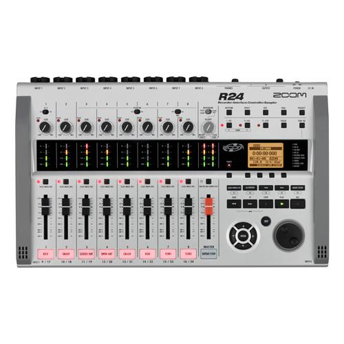 ZOOM R24 Recorder: Interface: Controller: Sampler