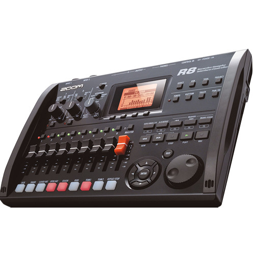 ZOOM R8  Recorder: Interface: Controller