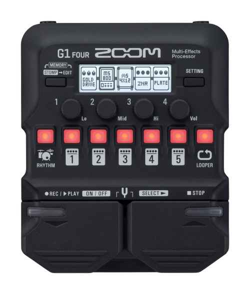 ZOOM G1 Four Guitar Multi Effects Pedal