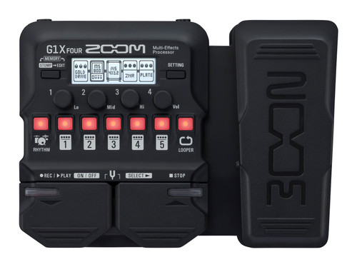 ZOOM G1X FOUR Guitar Effects Pedal