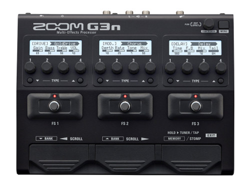 ZOOM G3n Intuitive Multi-Effects Processor for Guitarists