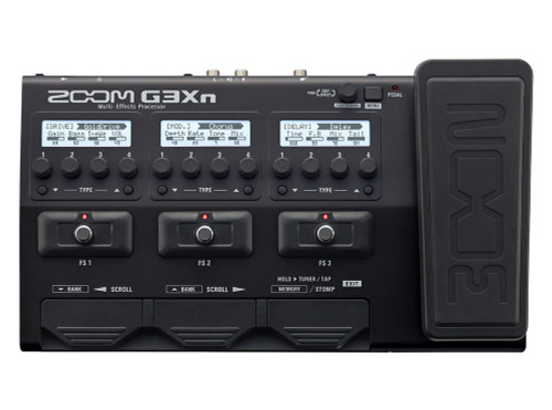 ZOOM G3Xn Intuitive Multi-Effects Processor with Expression Pedal for Guitarists