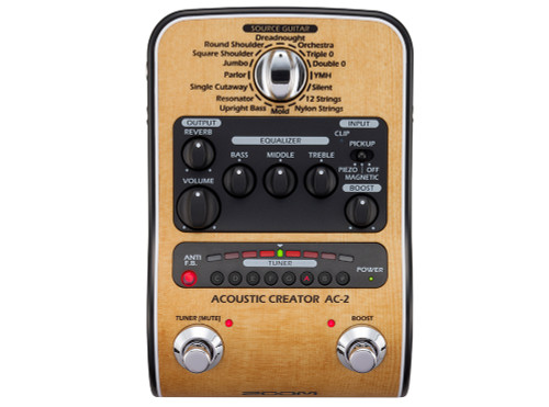 ZOOM AC-2 Acoustic Creator Effects Pedal